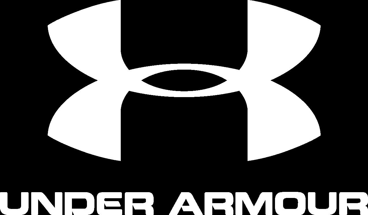 White Under Armour Logo